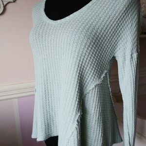 Juicy Couture Blue Knit Sweater